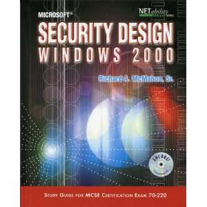 Microsoft Security Design Windows 2000 Study Guide for