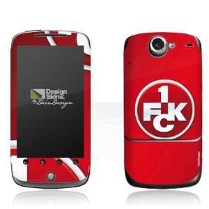 Skins for HTC Google Nexus One   1. FCK Logo Design Folie Electronics