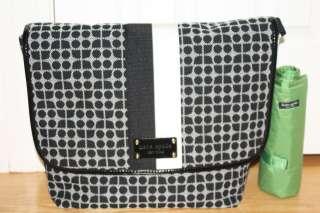 NWT Kate Spade Baby Diaper Classic Dot Noel Messenger Bag Large w