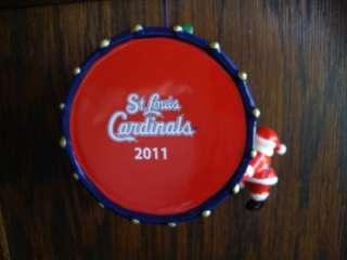 2011 ST LOUIS CARDS CARDINALS BASEBALL CHRISTMAS ORNAMENT DANBURY MINT