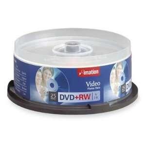 Imation Dvd+Rw 4.7 Gb 8x Branded 25 Ea/Pkg Highest Quality