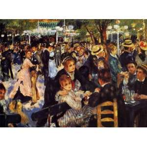 Paintings Dance at the Moulin de la Galette Oil Painting Canvas Ar