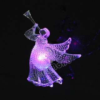 New change color Sucker LED LIGHTED CHRISTMAS Xmas gift ANGEL WITH