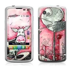 I Love Moo Design Protective Skin Decal Sticker for LG