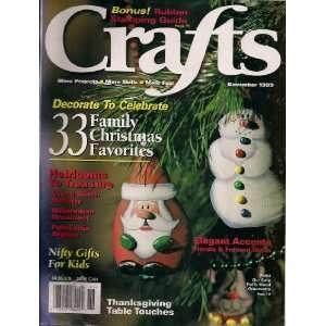 Crafts (November 1999, Vol. 22/ No. 9) Miriam Olson Books