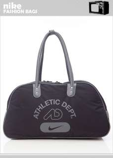 BN Nike AD Gym Duffle Travel Bag Black/Dk Gray