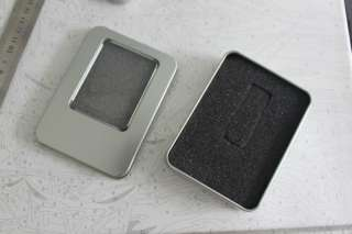 Square Metal Jewelry Watch Gift Box Case 12X9cm NEW