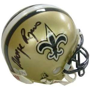George Rogers signed New Orleans Saints Replica Mini