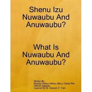 What Is Nuwaubu And Anuwaubu?: Books