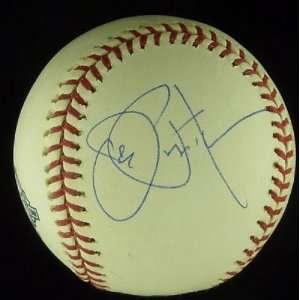 Joe Pepitone Autographed Ball   ML PSA COA   Autographed
