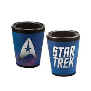 Classic Star Trek Command Logo Name Ceramic Shot Glass