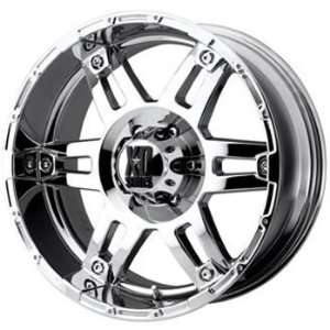 XD XD797 20x9 Chrome Wheel / Rim 5x135 with a  12mm Offset and a 87.10