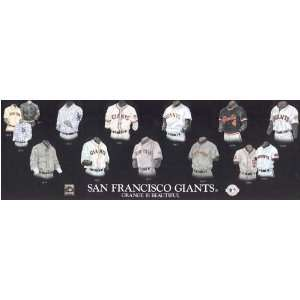 San Francisco Giants Plaque