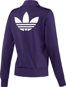 Adidas Originals Firebird Track Top Womens S SMALL Jacket EGGPLANT