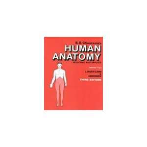 HUMAN ANATOMY REGIONAL AND APPLIED. VOLUME TWO LOWER LIMB