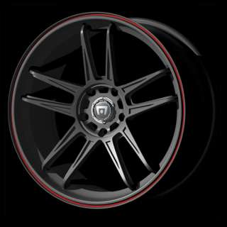 IMPALA GRAND AM REGAL CTS MR117 BLACK 20 WHEELS RIMS
