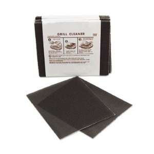 Grill Cleaner Screen, 4 1/2 X 5 1/2, Flexible Mesh Covered On Both
