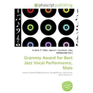 Grammy Award for Best Jazz Vocal Performance, Male