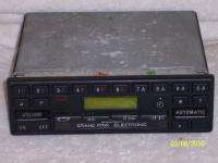 Mercedes Becker Grand Prix 612 AM/FM Cassette Radio