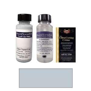 1 Oz. Salmon Silver Metallic Paint Bottle Kit for 1989 BMW