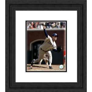 Framed Greg Maddux San Francisco Giants Photograph Sports