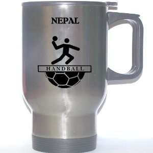Nepali Team Handball Stainless Steel Mug   Nepal