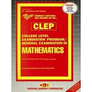 College Level Examination Program) (9780837352473) Jack Rudman Books
