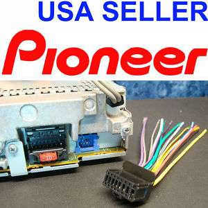 124668872_pioneer wire harness power plug clip dvd tv lcd indash pioneer deh wiring harness in vehicle electronics & gps pioneer deh-p5900ib wiring harness at alyssarenee.co