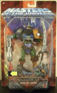 SAMURAI MAN AT ARMS Masters of the Universe He Man MotU