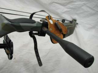 GOLDEN EAGLE ARCHERY SUPER HAWK CAMO COMPOUND BOW SETUP ARCHERY