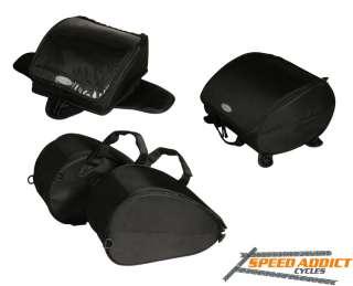 Dowco Value 3 piece Set Motorcycle Sport Bike Luggage