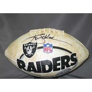 Ken Stabler Signed Raiders Football Sports Collectibles
