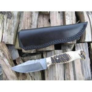 Beautiful Hand Forged Damascus Knife   Custom Made