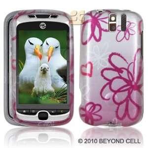 HTC MYTOUCH SLIDE 3G Lime Flower Premium Designer Hard