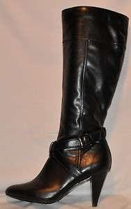 Black Knee High High Heel Tall Boots Womens Size 9.5M NEW