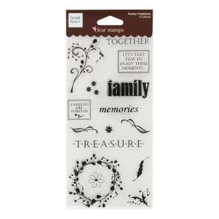 Fiskars Heidi Grace Designs Assorted Craft Clear Stamps 020335030763