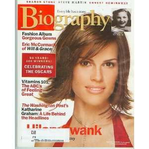 March 2003   Hilary Swank..Katharine Graham..Eric McCormack: Books