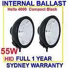 55w hid hella 4000 compact internal ballast spot driving light