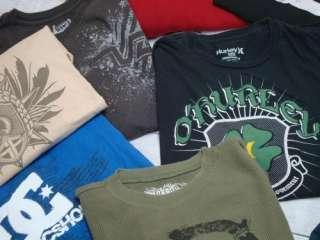 QUIKSILVER HURLEY VOLCOM Mens Surf Skate T Tee Shirt Lot Sz XXL 2XL