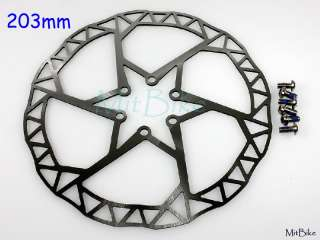 KCNC Razor Stainless Disc Brake Rotor 203 mm MTB Bike