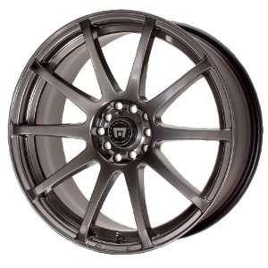 Motegi SP10 15x7 Black Wheel / Rim 4x4.5 with a 42mm Offset and a 72