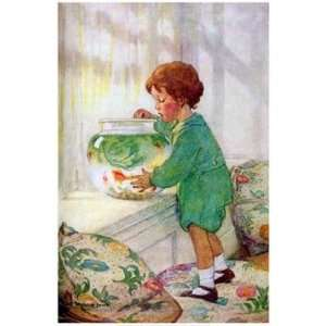 Goldfish by Jessie Wilcox Smith 12x18