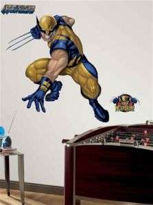 BiG Wall Mural Stickers MARVEL X MEN Kids Room Decor NEW Vinyl Decals