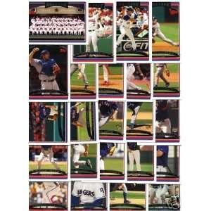 2006 Topps Texas Rangers Complete Team Set (24 Cards