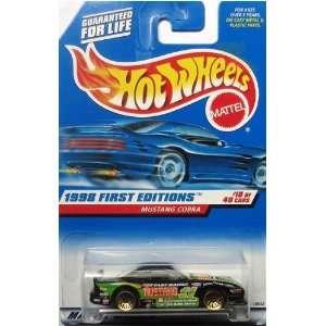 Hot Wheels 1998 First Editions  #18 Mustang Cobra 5 Spoke