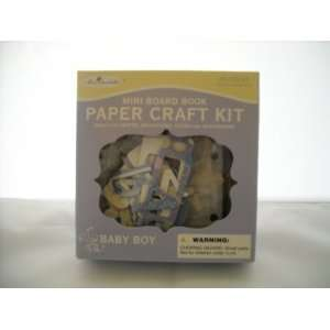 Miss Elizabeths Mini Board Book Paper Craft Kit Baby Boy New
