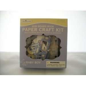 Miss Elizabeths Mini Board Book Paper Craft Kit Baby Boy New