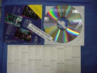 JOHN COUGAR MELLENCAMP Aint That America 84 Laserdisc