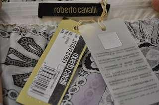 New Roberto Cavalli $820 Womens Top Blouse Shirt Sz 42