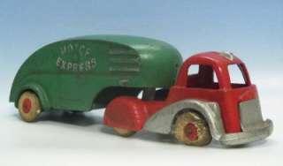 1930s~Pre War~HUBLEY MOTOR EXPRESS #2900 Big 9Cast Iron Truck~NICE